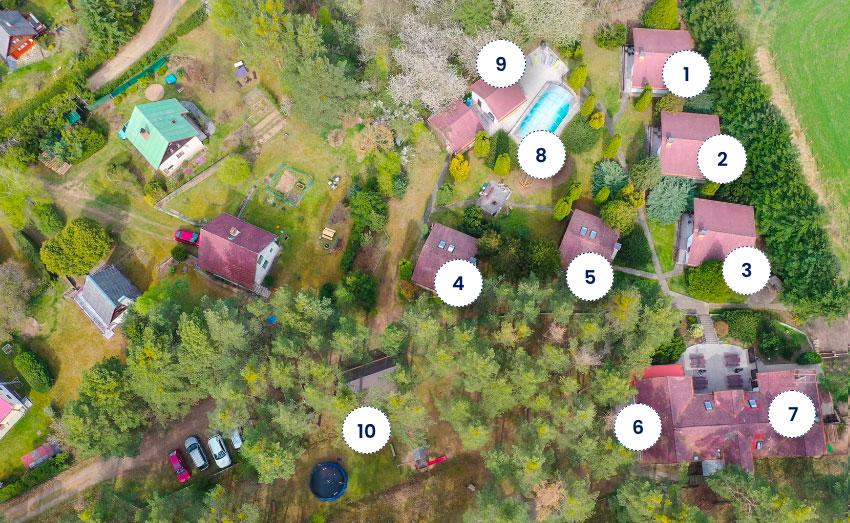 Mapa Apartmánů Podskalí